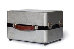 Cas de gris en métal de cru Photo libre de droits