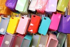 Cas de téléphone image stock