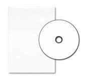 Cas vide et disque de DVD Photo stock