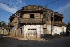 Casa台尔蝙蝠鱼, Mompox 库存图片