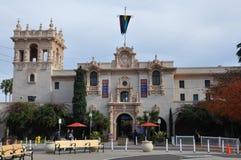 Casa在巴波亚公园的del普拉多在圣地亚哥 免版税库存照片