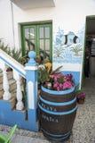 Casa África de Restaurante Playa Imágenes de archivo libres de regalías