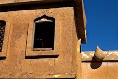 Casa árabe del estilo, con la ventana clásica tradicional fotos de archivo libres de regalías