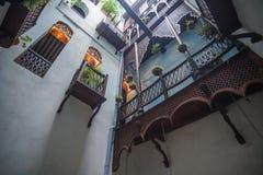 Casas de la ciudad de piedra Foto de archivo