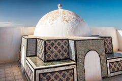 Casa árabe en Túnez Foto de archivo