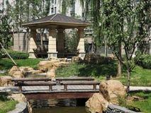 Casa, área residencial, Pekín, China Fotografía de archivo libre de regalías