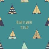 A casa é o lugar onde você está Imagens de Stock