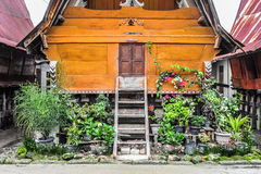Casa étnica de Batak en el lago toba Fotografía de archivo libre de regalías
