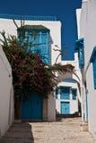 casa 0909_0956 branca balkony Imagem de Stock