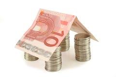 Casa 1 do dinheiro Foto de Stock