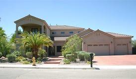 Casa 14 del deserto Fotografia Stock Libera da Diritti