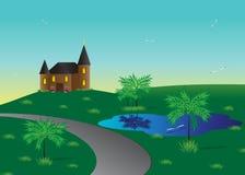 Casa. ilustração royalty free