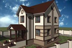 Casa Illustrazione Vettoriale