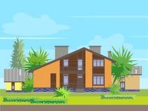 Casa royalty illustrazione gratis
