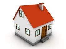 casa 3d Imagens de Stock Royalty Free