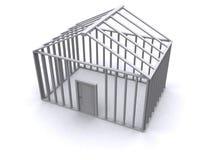 casa 3D Foto de archivo
