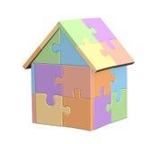casa 3d Imágenes de archivo libres de regalías
