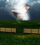 Casa 6 del tornado Imagenes de archivo