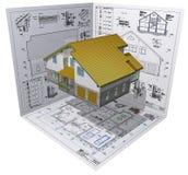 Casa. ilustración del vector
