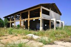 Casa abandonada. Fotografia de Stock