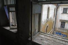 Casa abandonada Foto de archivo