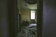 Casa abandonada Imagens de Stock Royalty Free