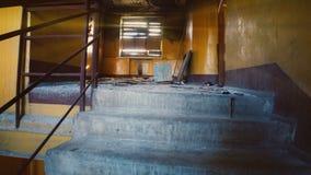 Casa abandonada almacen de video