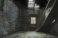 Casa abandonada da loja Imagens de Stock Royalty Free