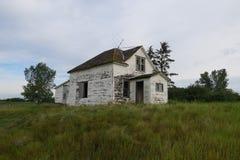 Casa abandonada de Ghost Fotos de Stock Royalty Free