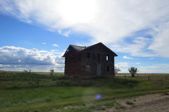 Casa abandonada de Ghost Imagem de Stock