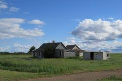 Casa abandonada de Ghost Fotografia de Stock