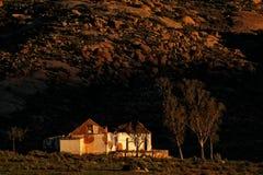 Casa abandonada de la granja Fotos de archivo libres de regalías