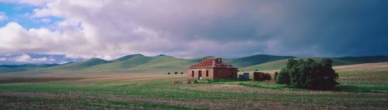 Casa abandonada de la granja Imagenes de archivo