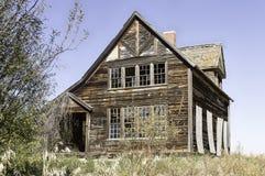 Casa abandonada de la granja Fotografía de archivo