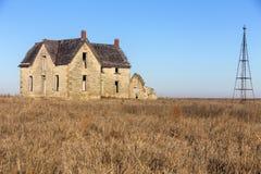Casa abandonada del Dr. jones Fotografía de archivo libre de regalías