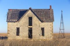 Casa abandonada del Dr. jones Imagen de archivo libre de regalías