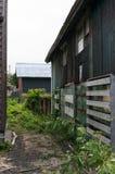 Casa abandonada do armazenamento Fotos de Stock Royalty Free