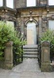 Casa abandonada do victorian imagens de stock royalty free