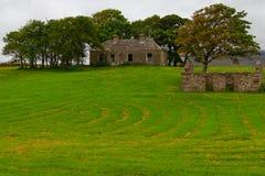 Casa abandonada e ruínas, fuga do Greenway de Great Western imagem de stock royalty free