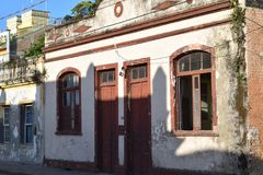 Casa abandonada em Brasil Foto de Stock Royalty Free