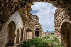 Casa abandonada en Dereiçi, Turquía Imagen de archivo
