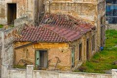 Casa abandonada en Grecia Fotografía de archivo