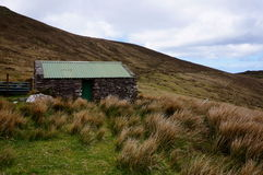 Casa abandonada en Irlanda imágenes de archivo libres de regalías