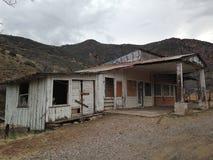 Casa abandonada en Jerome, Arizona foto de archivo libre de regalías