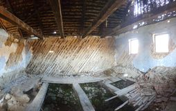 Casa abandonada na Transilvânia Imagens de Stock Royalty Free