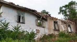 Casa abandonada velha 1 Fotografia de Stock