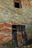 Casa abandonada velha em Chelva, Valência imagens de stock royalty free