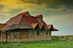 Casa abandonada vieja Fotografía de archivo