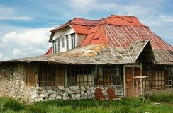 Casa abandonada vieja Fotos de archivo