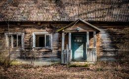 Casa abandonada vieja imágenes de archivo libres de regalías